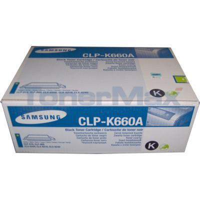 SAMSUNG CLP-610ND TONER CARTRIDGE BLACK 2.5K